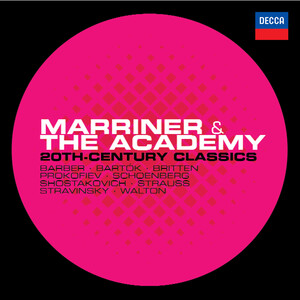 Marriner and The Academy: 20th Century Classics