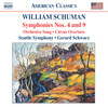 William Schuman: Symphonies Nos. 4 and 9; Orchestra Song; Circus Overture