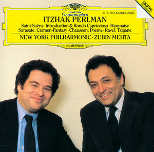 Itzhak Perlman with Zubin Mehta & the New York Philharmonic