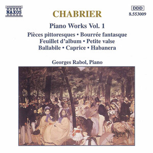 Chabrier: Piano Works, Vol. 1