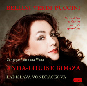Bellini, Verdi and Puccini: Songs for Voice and Piano