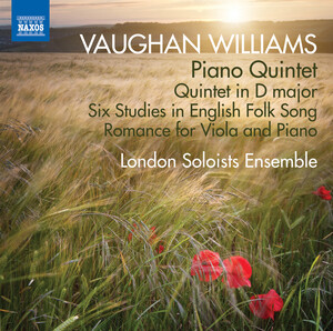 Vaughan Williams: Piano Quintet, Quintet in D Major, and 6 Studies in English Folk Song
