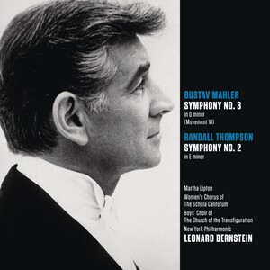 Mahler: Symphony No.3 in D- (movement 6); Randall Thompson: Symphony No.2 in E-