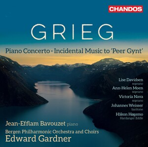 Grieg: Peer Gynt, Op. 23 and Piano Concerto in A Minor, Op.16