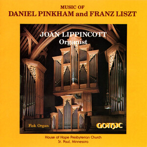 Music of Daniel Pinkham and Franz Liszt