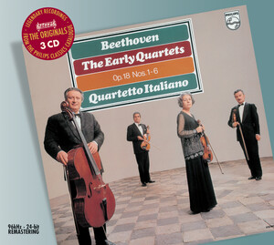 Beethoven: The Early Quartets, Op.18, Nos.1-6