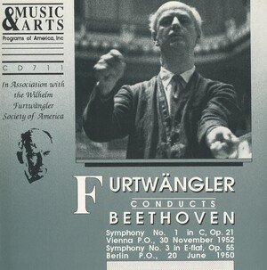 Furtwängler Conducts Beethoven's Symphonies Nos.1 and 3