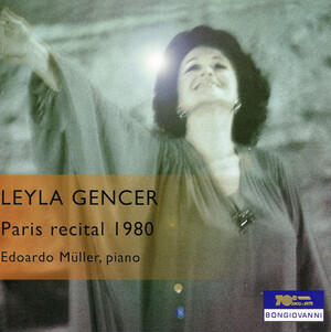 Leyla Gencer, Paris Recital 1980