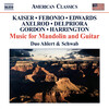 American Music For Mandolin And Guitar: Works by Kaiser, Febonio, Axelrod, etc.