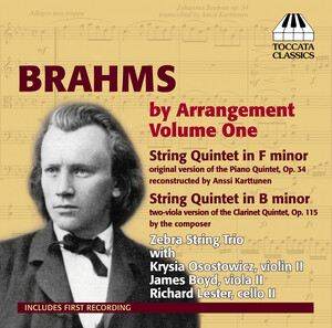 Brahms by Arrangement, Vol.1