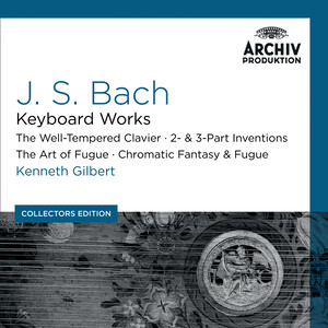 Bach, J.S.: Keyboard Works; The Well-Tempered Clavier; 2 and 3-Part Inventions; The Art Of Fugue; Chromatic Fantasy and Fugue