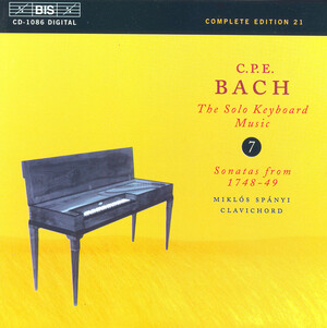 C.P.E. Bach: The Solo Keyboard Music, Vol.7