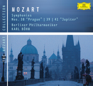 Mozart: Symphonies Nos.38 'Prague', 39, and 41 'Jupiter'