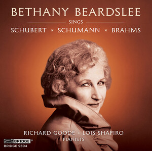 Schubert, Schumann and Brahms: Lieder