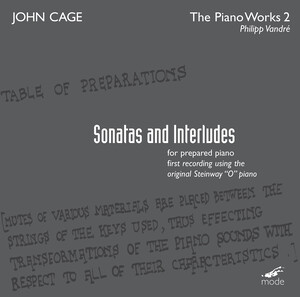 John Cage: The Piano Works 2, Sonatas and Interludes