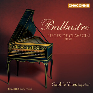 Balbastre: Pieces de Clavecin, Book 1