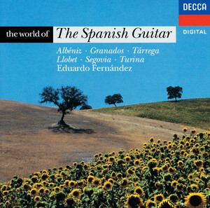 The World of the Spanish Guitar: Works by Albéniz, Llobet, Granados, etc.