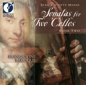 Jean Baptiste Masse: Sonatas for Two Cellos, Book 2