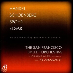 Works for String Quartet and Orchestra