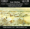 Sibelius: Complete Youth Production for Violin and Piano, Vol.2