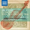 Williams: Concerto for Violin and Orchestra