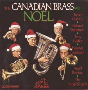 Noël: Canadian Brass plays Bach, Adam, Schubert, etc.