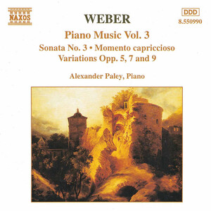 Weber: Piano Music, Vol.3