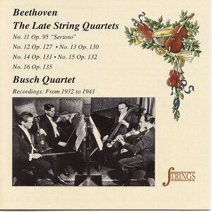 The Late Beethoven String Quartets - Classical Archives