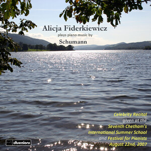 Alicja Fiderkiewicz Plays Piano Music By Schumann