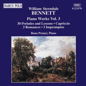 William Sterndale Bennett: Piano Works, Vol.3