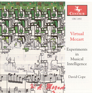 Cope: Virtual Mozart - Experiments in Musical Intelligence: Symphony, After Mozart and Concerto, After Mozart