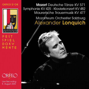 Mozart: 6 German Dances, Symphony No.36 in C Major and Piano Concerto No.22 in E-Flat Major (Live)