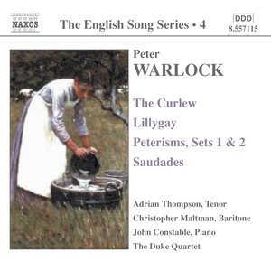 Warlock: The Curlew; Lillygay: Peterisms, Sets1 and 2; Saudades