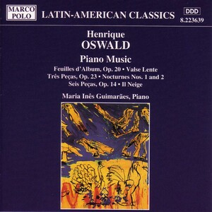 Henrique Oswald: Piano Music