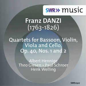 Danzi: Quartet for Bassoon, Violin, Viola & Cello, Op.40, No.1 and 2
