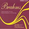Brahms: Clarinet Quintet in B Minor Op.115; Sonata in E Flat Major for Clarinet and Piano,Op.120 No.2