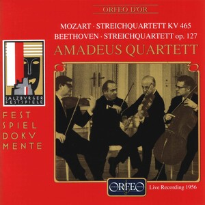 Mozart and Beethoven: String Quartets (Live)
