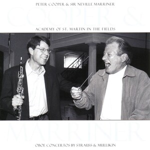 Cooper and Marriner Perform Oboe Concertos by Strauss and Mullikin