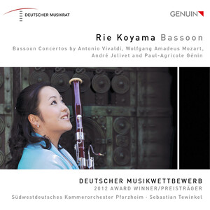 Vivaldi, Mozart, Jolivet and Génin: Bassoon Concertos