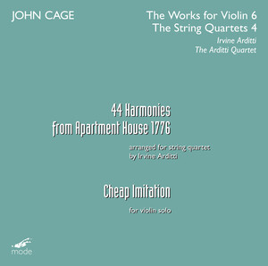 John Cage: 44 Harmonies From Apartment House 1776; Cheap Imitation
