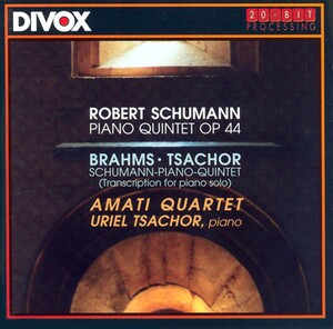 Schumann: Piano Quintet in Eb; Brahms and Schumann: Piano Quintets