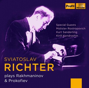 Sviatoslav Richter plays Rachmaninov and Prokofiev