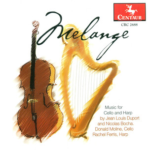Jean-Louis Duport: Melange (Music for Cello and Harp)