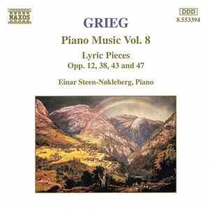 Grieg: Piano Music, Vol.8