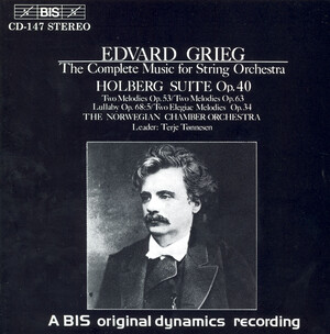 Grieg: Complete Music for String Orchestra
