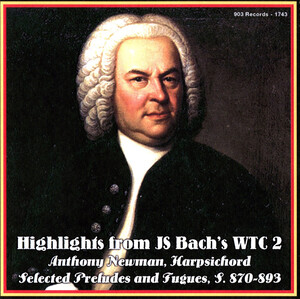 Bach: Highlights from the Well-Tempered Clavier