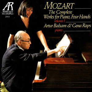 Mozart: The Complete Works for Piano, 4 Hands, Vol.1