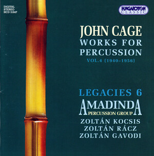 John Cage: Works for Percussion, Vol.4