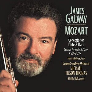 Mozart: Concerto for Flute and Harp, K.299; Sonatas for Violin and Piano, K.296 and K.376