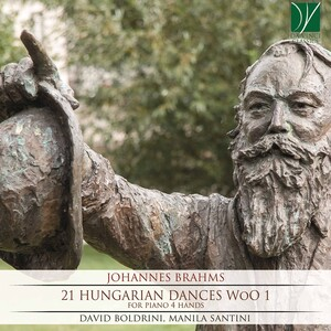 Johannes Brahms: Complete Hungarian Dances, for Piano 4 Hands WoO1